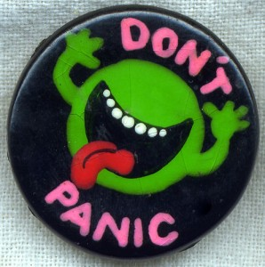 Don't Panic by Fire Monkey Fish.