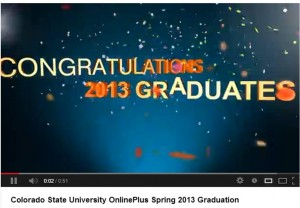 Colorado State University OnlinePlus Spring 2013 Graduation Luncheon