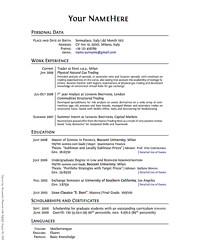 listing education on resumes