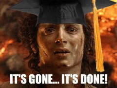 The Epic Feeling of Graduation: December College Meme