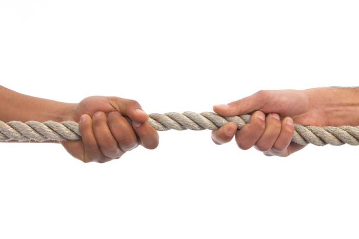 Tug of war - Going back to school - relationships