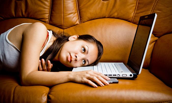 student procrastinating